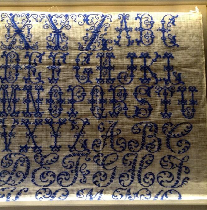 abecedario azul